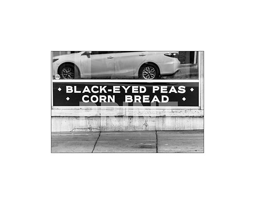 """Black-eyed Peas& Corn Bread"" Laurel, Mississippi"