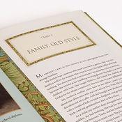typography design for memoir book