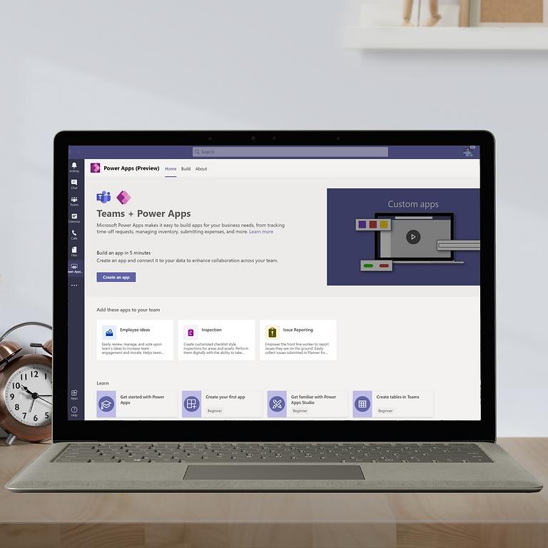 Create a Power App in Microsoft Teams