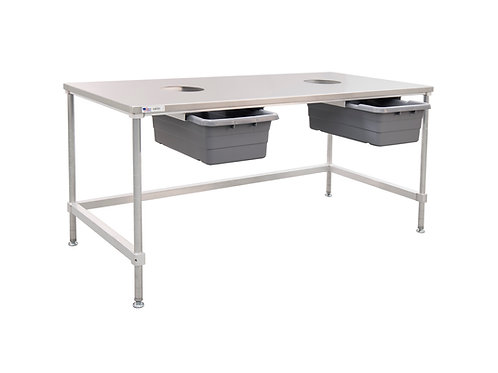 3 Used Aluminum Cutting Tables