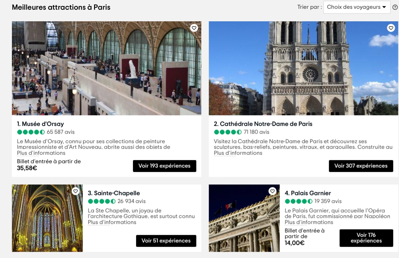 French-language content curation at TripAdvisor.fr