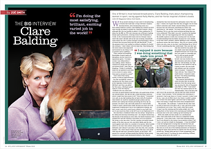 Feature Interview with Broadcaster Clare Balding