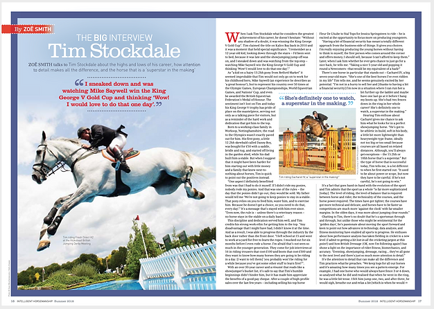 Feature Interview with Olympian Tim Stockdale