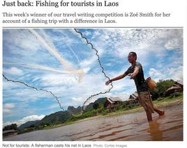 The Telegraph (UK) - Travel Story