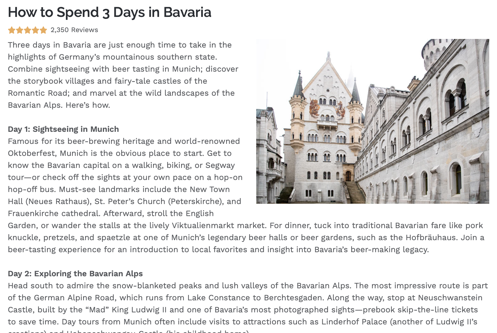 Curated itineraries for Viator using local resources and first-hand knowledge of the destination.
