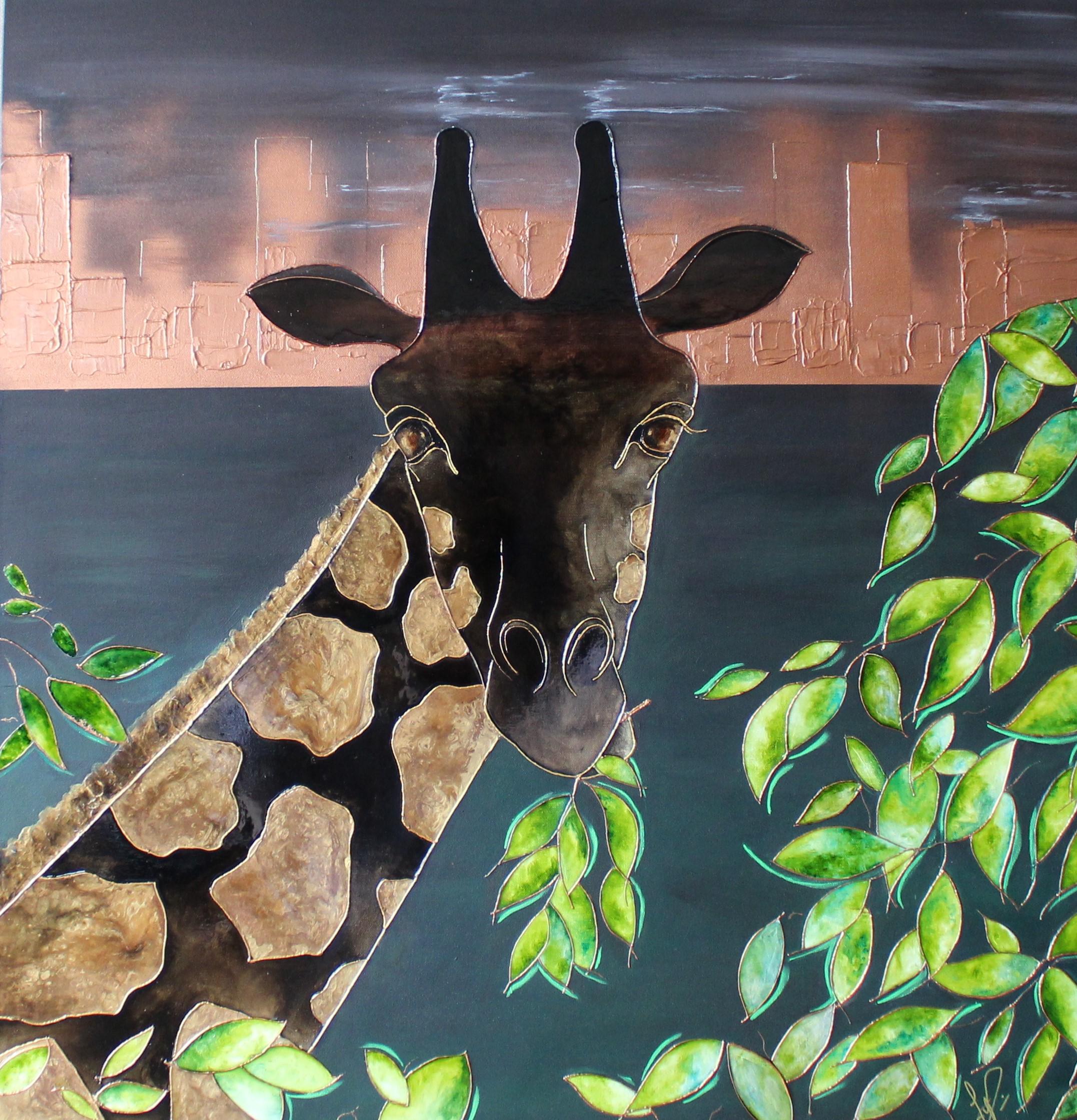 2020 La ville qui n'aimait plus les girafes Hommage à Anne Innis Dagg