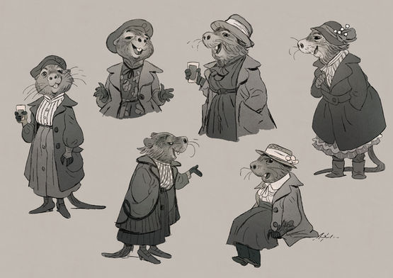 Inspired by The Wind in the Willows