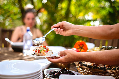 Ara Arcadia Retreat Breakfast