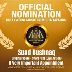 HMMA Nomination for Best Score - Short Film (Live Action)! Incredibly honoured!