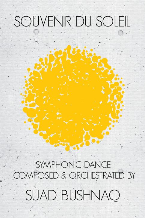 World Premiere of my Symphonic Dance 'Souvenir du Soleil' by the Lüneburg Symfoniorkester