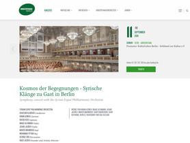 Ghadan at Konzerthaus Berlin | Syrian Expat Philharmonic Orchestra