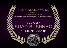 I won Silver Medal for Outstanding Achievement in Original Score at the Global Music Awards 2018