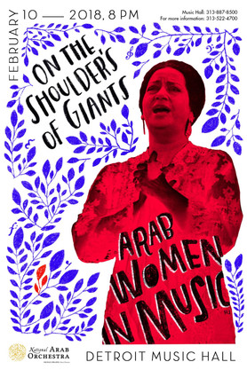 Ghadan 'Tomorrow'  by the National Arab Orchestra to celebrate Arab Women in Music