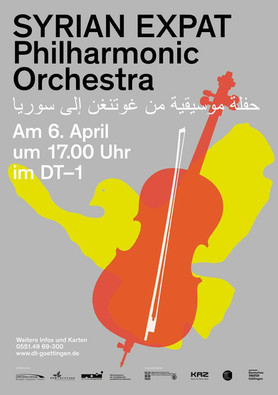 The Borrowed Dress in Göttingen and Hannover by the Syrian Expat Philharmonic Orchestra