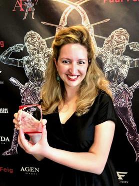 Winner: Best Foreign Score Award at the Artemis Women in Action Film Festival