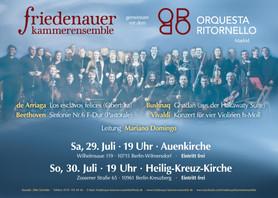 Ghadan in Berlin | Friedenauer Kammerensemble and Orquesta Ritornello