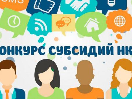 Карасукских общественников приглашают к участию в конкурсе на получение субсидий из областного бюдже