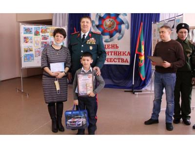 Карасукское казачество поздравило школьников с победой в конкурсе