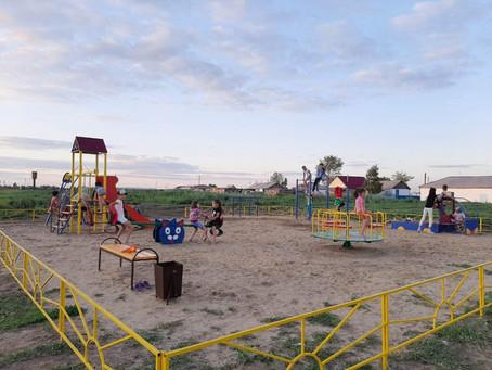 Карасукские общественники обустроили в районе ещё две территории