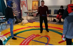 На базе отдела молодёжной политики создана опорная площадка «Молодецкие игры народов России»