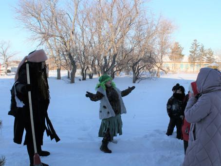 «Зимняя сказка» пришла в села Карасукского района