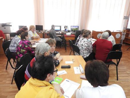 Карасукские общественницы играли в РОСКВИЗ