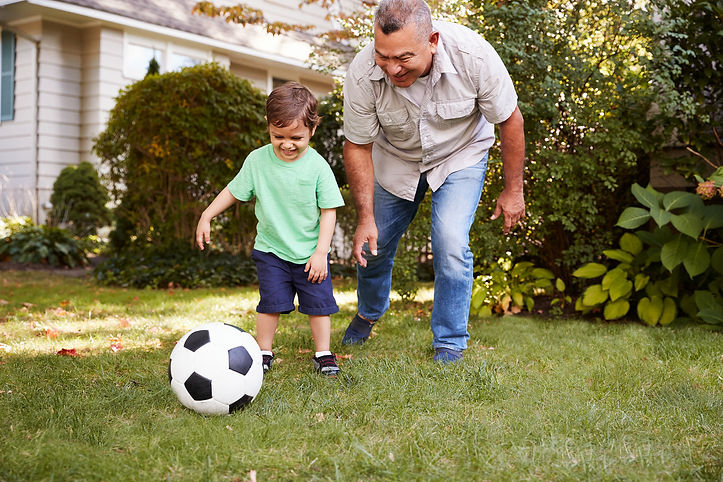 bigstock-Grandfather-Playing-Soccer-In--