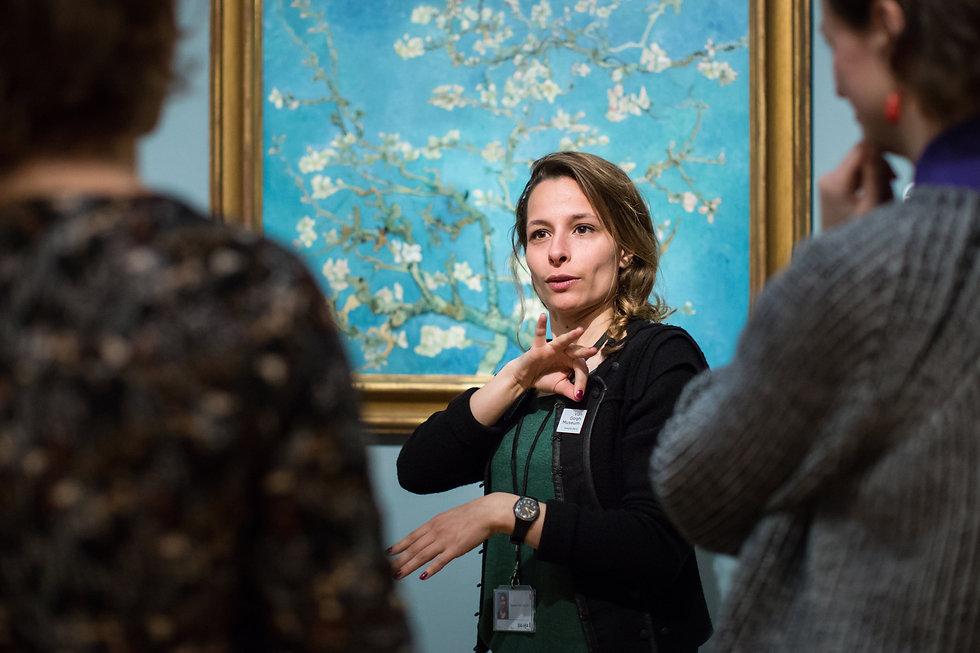 rondleiding NGT van Gogh Museum foto_ Br