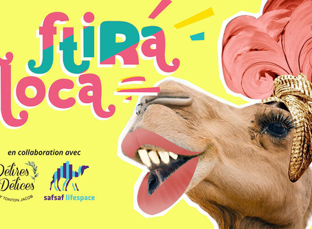 "Safsaf Foodlab présente la collection ""La Ftira Loca"" de Jacob Lellouche"