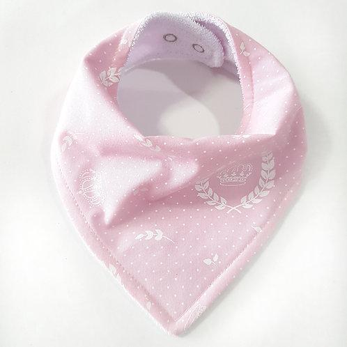 Bandana Coroas Rosa Bebê