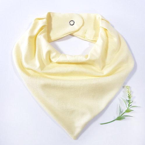 Bandana Amarelo Bebê