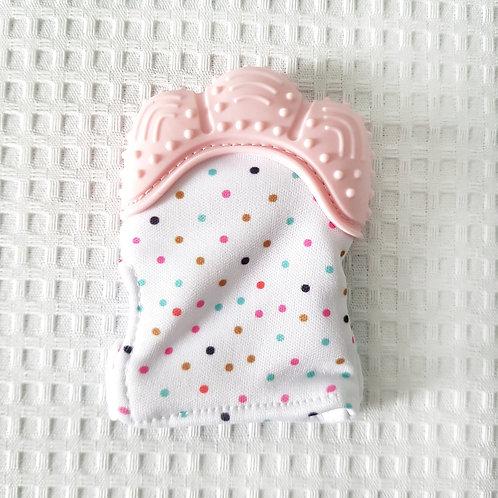 Luva Mordedor / Rosa Bebê