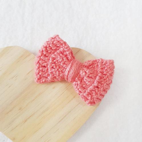 Laço Crochê Coral