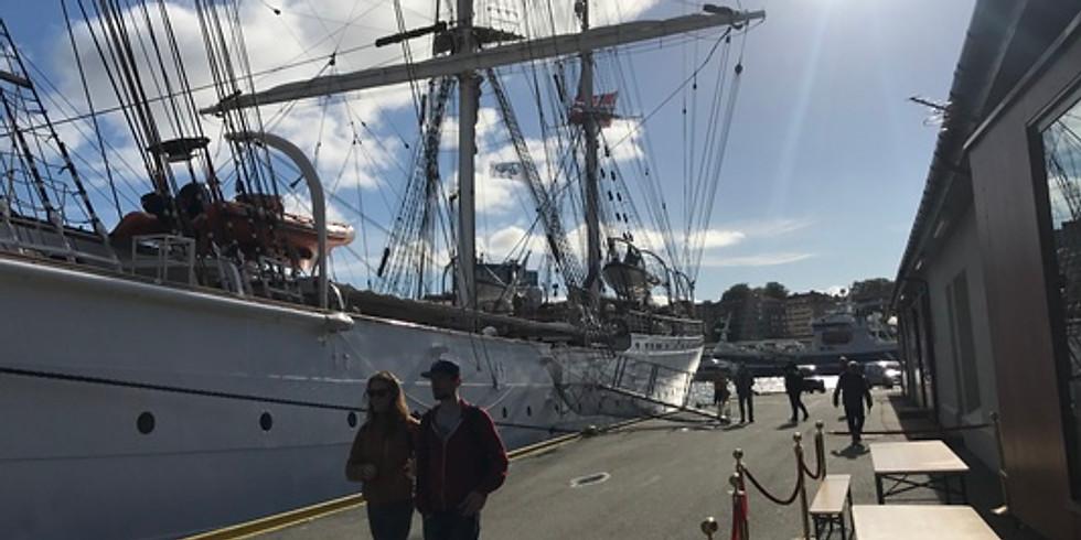 SPE Bergen Sailing with Statsraad Lehmkuhl