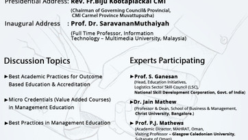 Inauguration of Reconstituted Academic Council