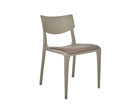 Silla TOWN asiento tapizado