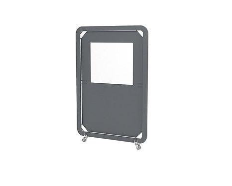 Mampara panel separador Siena Mini. Pantalla en tejido Olefin.