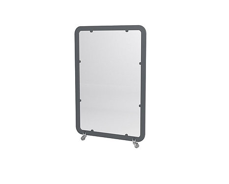 Mampara panel separador Siena Mini pantalla metacrilato.