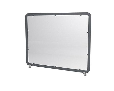Mampara panel separador Siena Maxi pantalla metacrilato.