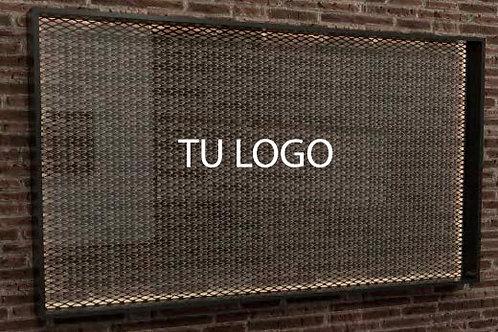 Marco con logo
