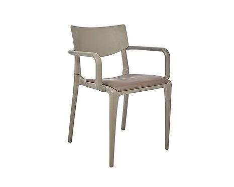 Sillón TOWN asiento tapizado