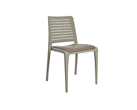 Silla Park asiento tapizado