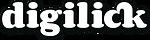 Digilick valkoinen logo