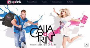CallaPrint.fi kotisivut