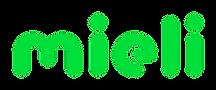Mieli Ry logo. Vihreää tekstiä valkoisella pohjalla.