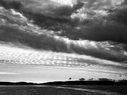 Mackerel Sky over Flotta