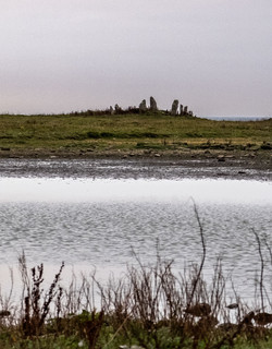 Loch of the Tarf and Chambered Cairn