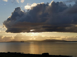 Sunset over Scapa Flow