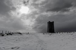 Kitchener's Memorial in the Snow