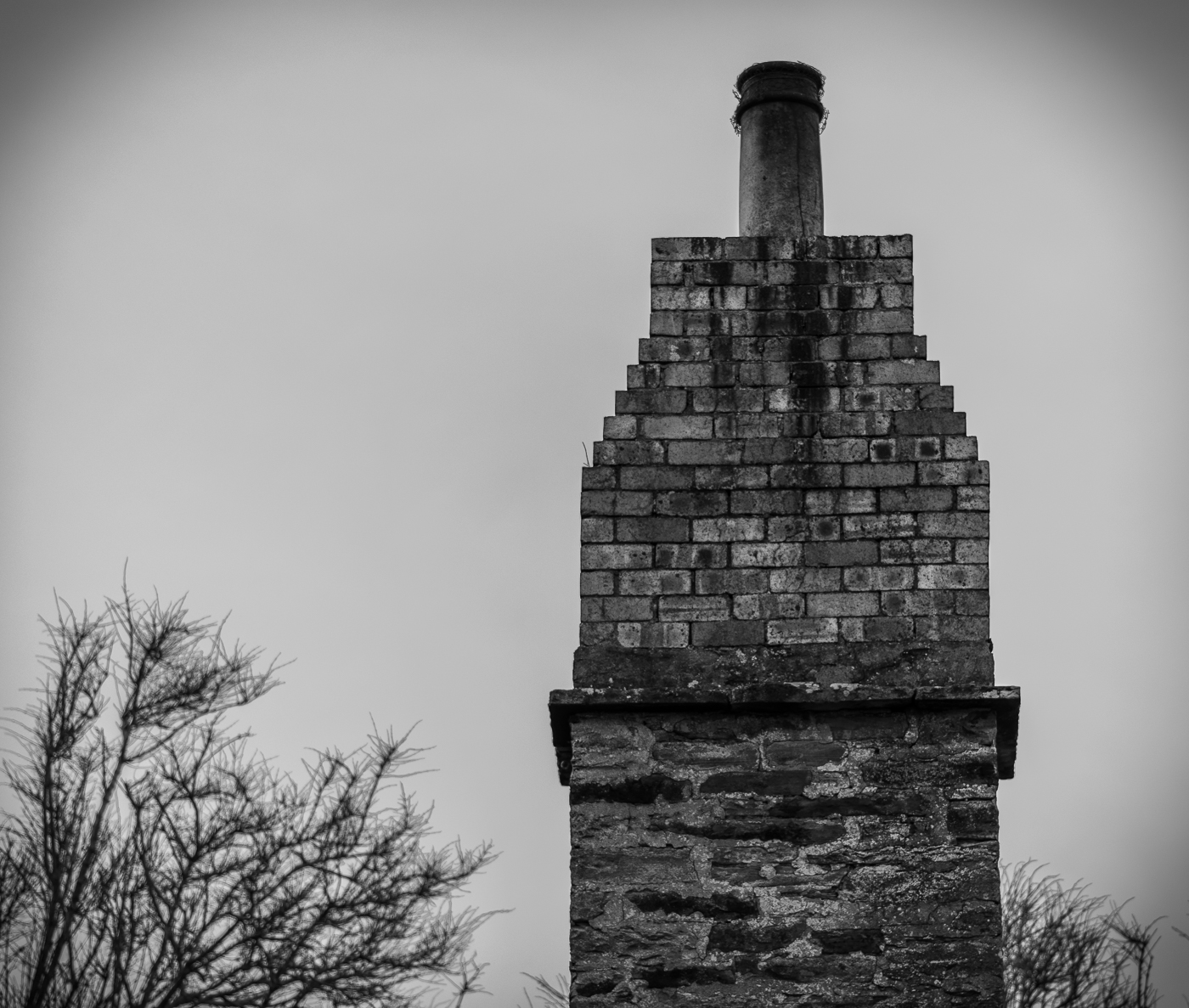 Old Chimney in Stromness